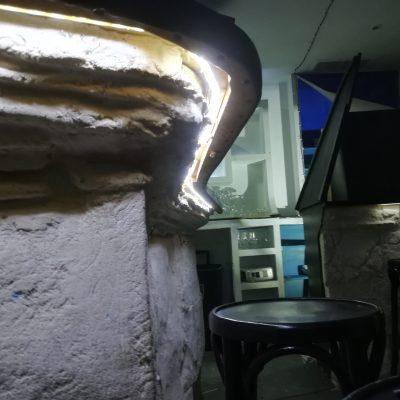 Iluminación LED bajo barra