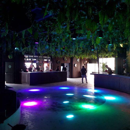 Iluminación mesa de sonido